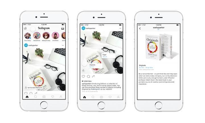 Instagram'da alışveriş dönemi başlıyor