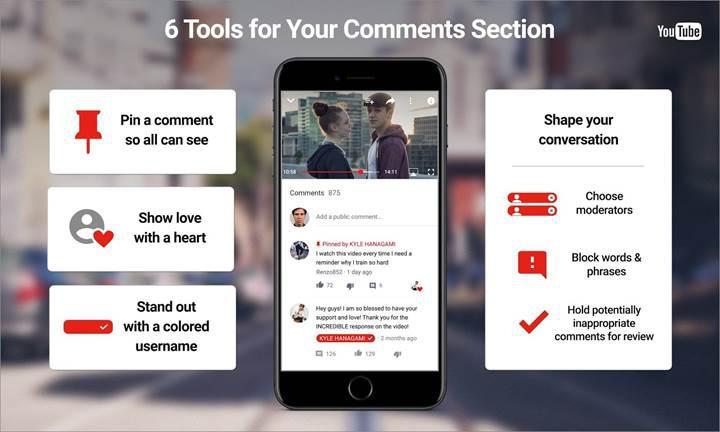YouTube, hakaretleri ve trol yorumları bitirecek yeni araçlarını yayınladı