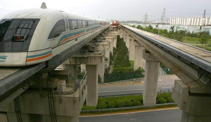 Çin, saatte 600 kilometreye ulaşabilen manyetik tren geliştiriyor