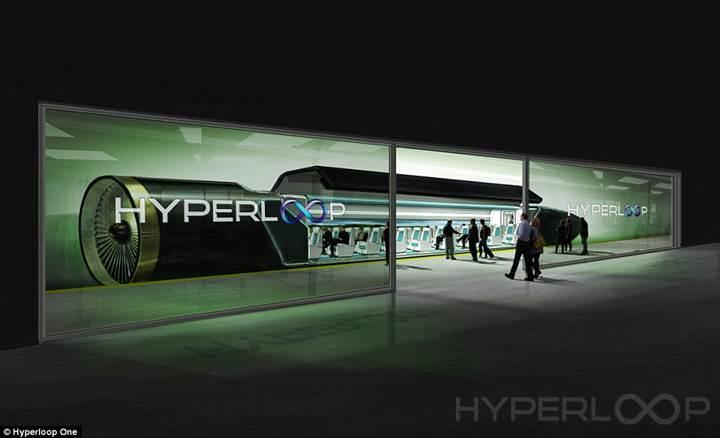 Hyperloop One: Yeni nesil süper hızlı ulaşım aracı