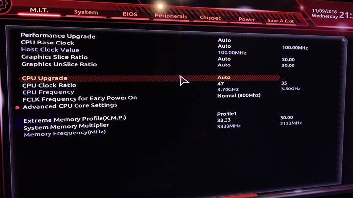 Gigabyte Z170X Ultra Gaming incelemesi