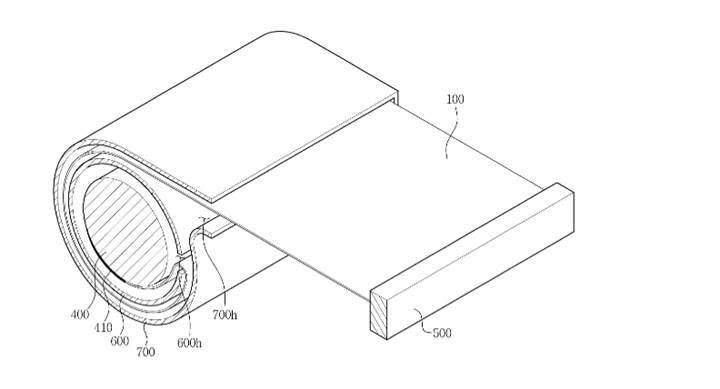 Samsung katlanabilir televizyon patenti aldı