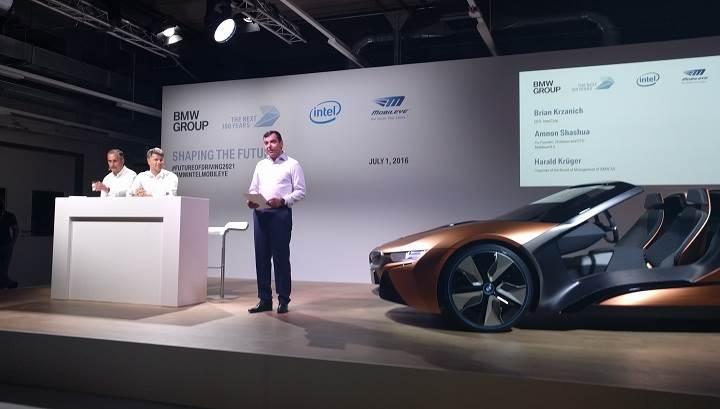 Intel sürücüsüz araçlar için 250 milyon dolar bütçe ayırdı