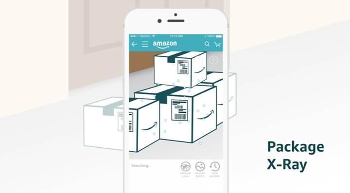 Amazon'un mobil uygulaması artık paket içeriğini de gösteriyor