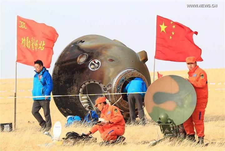 Gök Sarayı'ndaki Çinli taykonotlar işte böyle Dünya'ya döndü (Video)