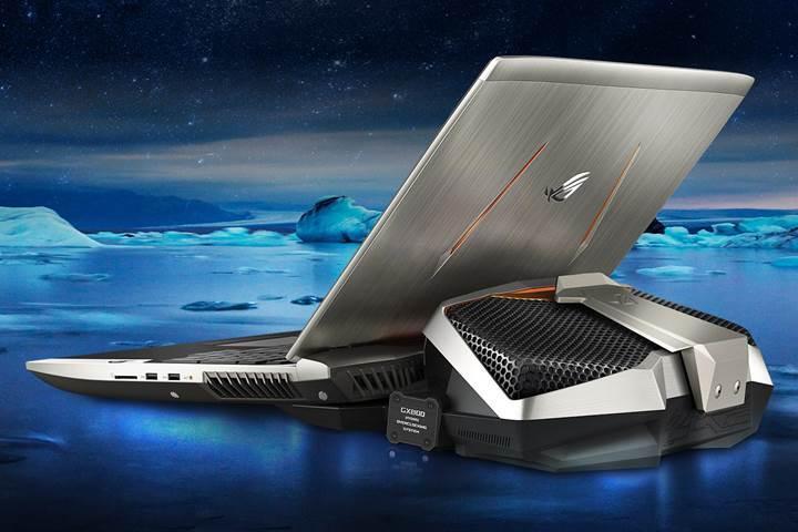 Çift GTX 1080 ekran kartlı Asus ROG GX800 dizüstü bilgisayarı duyuruldu
