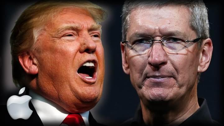Donald Trump, Tim Cook'a ABD'ye taşınmaları konusunda baskıya başladı