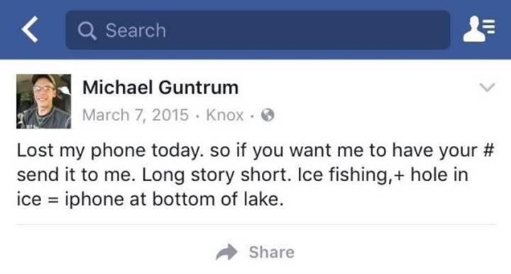 Donmuş göle düşen iPhone bir yıl sonra bulundu ve cihaz çalışıyor