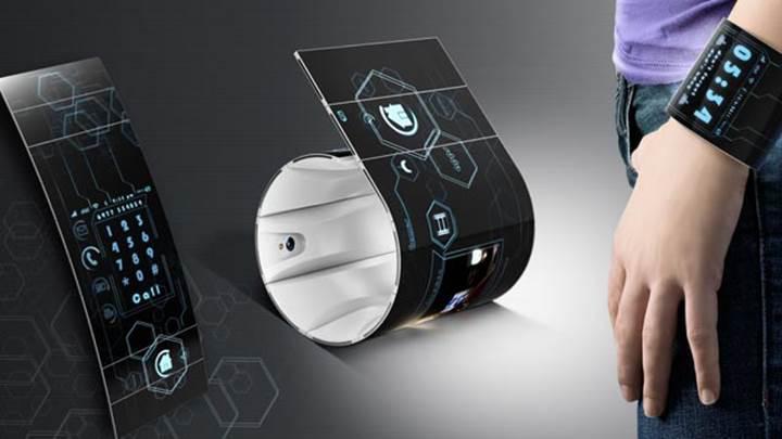 Samsung esnek ekranlar için yeni bir patent aldı