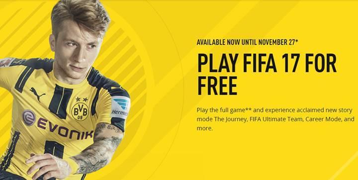 FIFA 17′nin tam sürümünü ücretsiz indirin