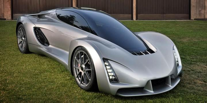 3D yazıcı ile oluşturulmuş 700 beygirlik süper otomobil
