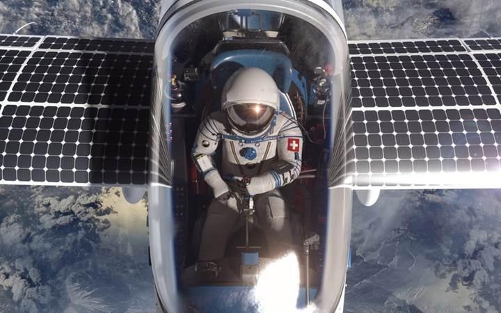 Güneş enerjisi ile çalışan uçak uzay sınırına kadar yükselecek