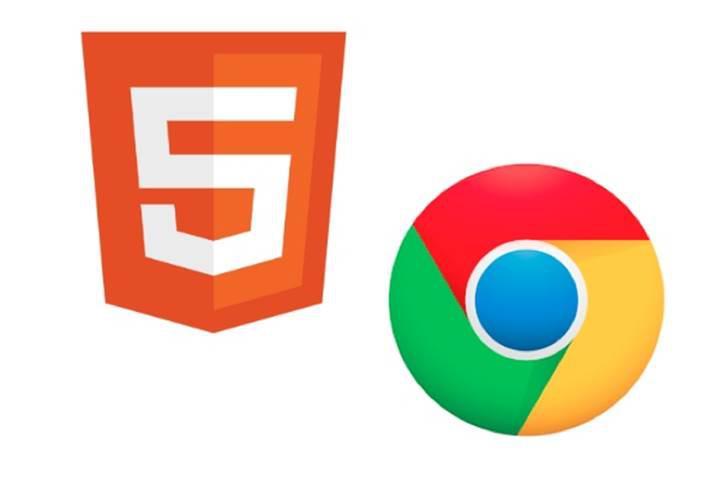 Google Chrome yeni sürümüyle HTML5′e geçiş yaptı