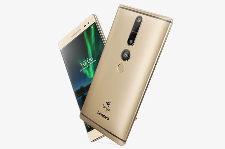 İlk ticari Tango telefon Lenovo Phab 2 Pro, Avrupa'da satışa sunuldu