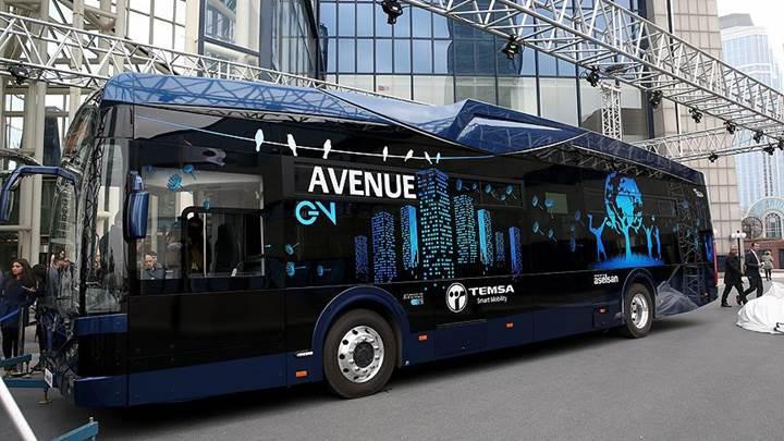 Aselsan ile Temsa'dan Türkiye'nin ilk %100 yerli elektrikli otobüsü: Temsa Avenue EV
