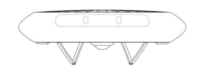 Samsung'dan UFO'yu andıran sıra dışı drone tasarımı