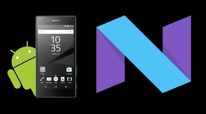 Sony Android 7.1.1'i yayınlayan ilk üretici olmayı hedefliyor