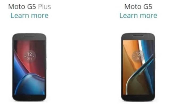Moto G5 serisi Mart ayına hazırlanıyor
