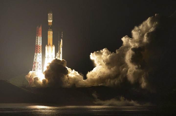 Rus uzay aracı patladı; Japonlar devreye girdi: İşte kalkış anları (VİDEO)