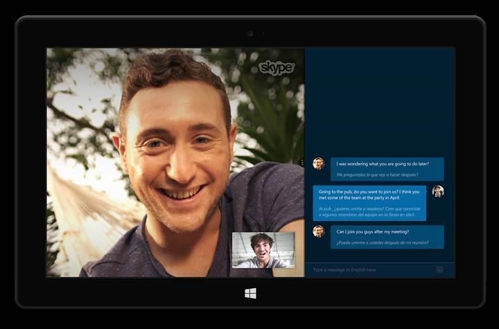 Anlık çeviri özelliği tüm Skype iletişimine geliyor