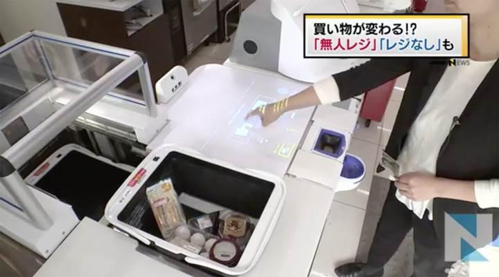 Panasonic, Japonya'da robotik kasiyer test ediyor