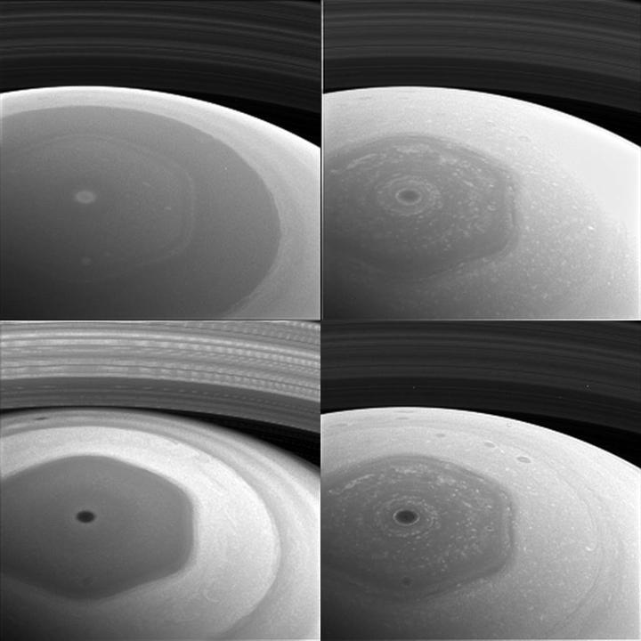 İşte Cassini'nin gönderdiği inanılmaz Satürn fotoğrafları