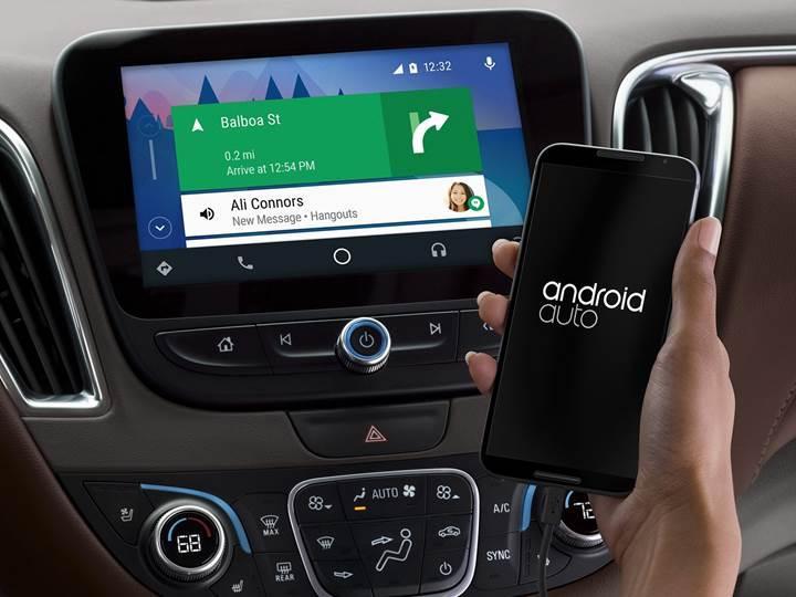 Android Auto sesli asistana kavuşuyor