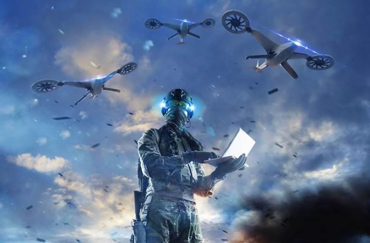 Oyun oynama taktikleriniz Drone'lara yol gösterecek