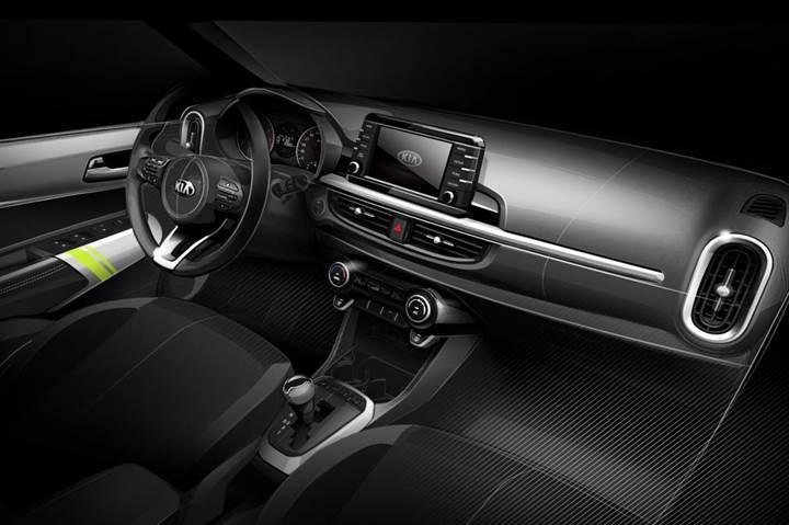 Yeni 2017 Kia Picanto'nun eskiz tasarım görselleri yayınlandı
