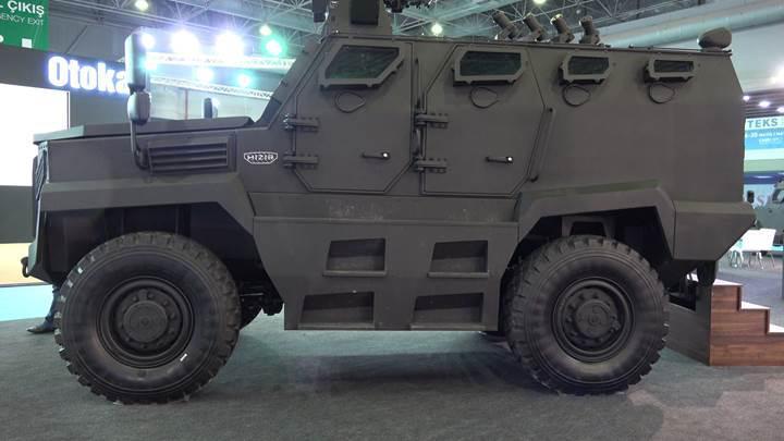 Yerli, zırhlı ve kudretli: Emniyet güçlerine yeni taktik araç