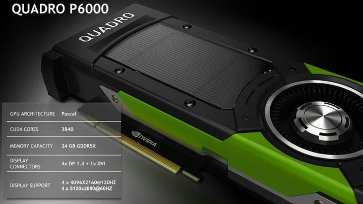 Nvidia Quadro P6000 Benchmarklarda ezip geçti