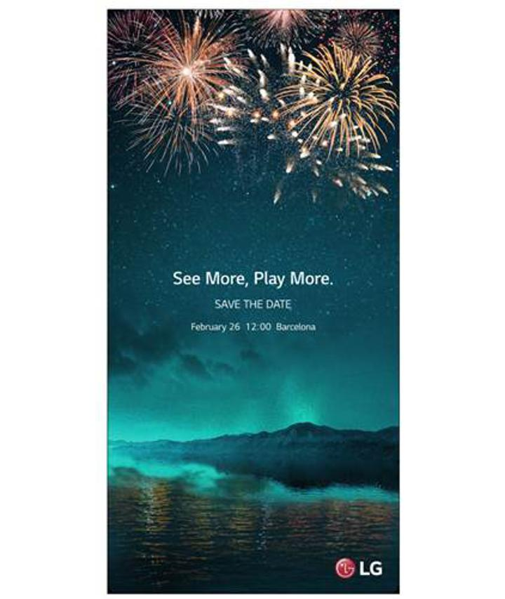 LG G6 davetiyeleri dağıtıma çıktı