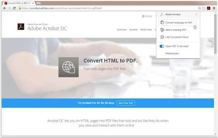 Adobe Acrobat'ın habersiz yüklenen Chrome eklentisinde büyük açık