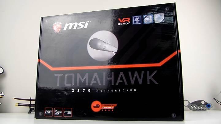 MSI Z270 Tomahawk incelemesi