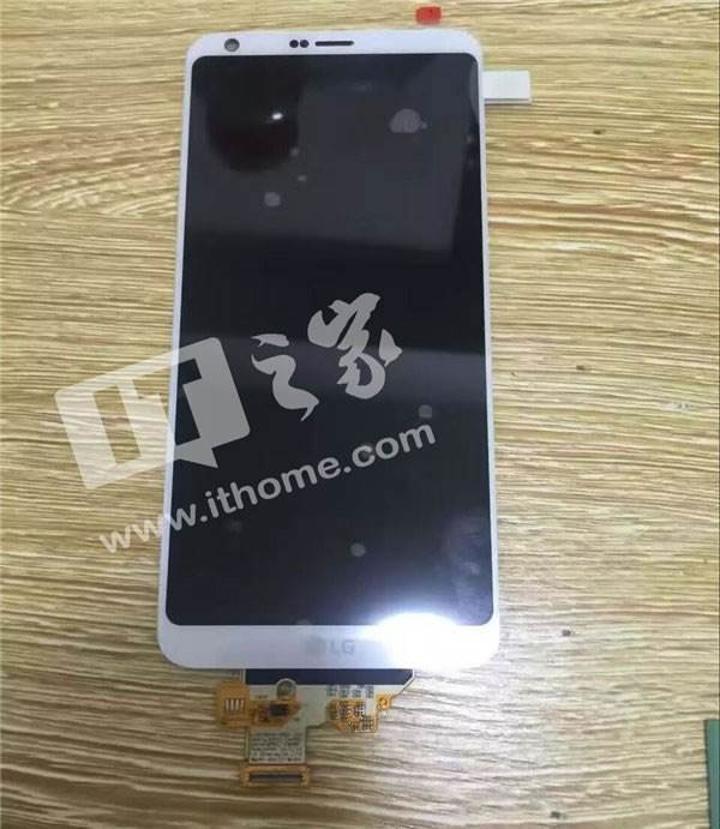 İşte karşınızda LG G6'nın ön paneli