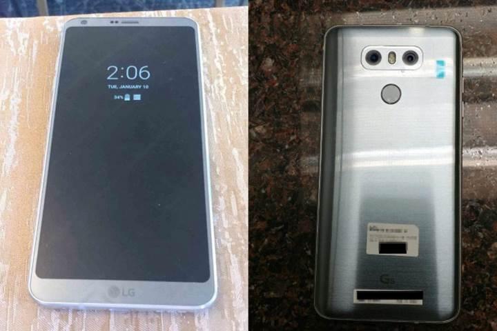 LG G6'nın 13MP geniş açılı çift kamerası 1:1 oranında kare görüntüler çekebilecek