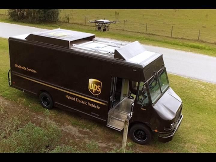 UPS, drone ile teslimat testlerine başladı