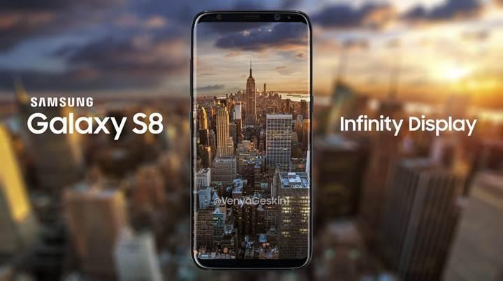 Teknik özellikleri belli olan Galaxy S8+ 6.2 inç devasa ekrana sahip olacak