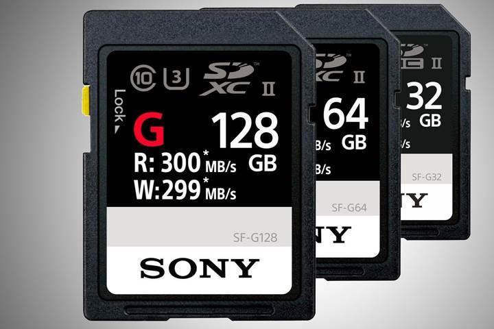 Sony'den dünyanın en hızlı SD kartı