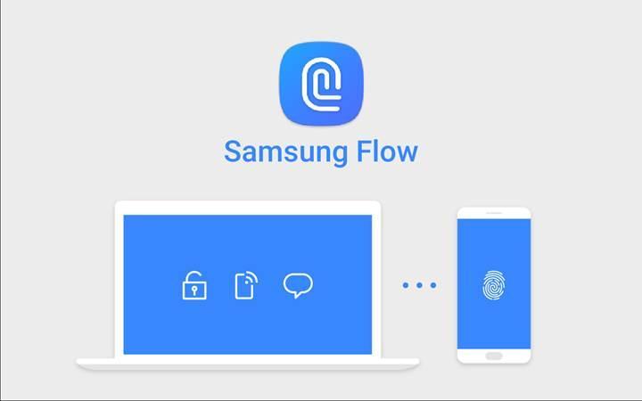 Samsung Flow Windows 10 ile birlikte çalışabilecek