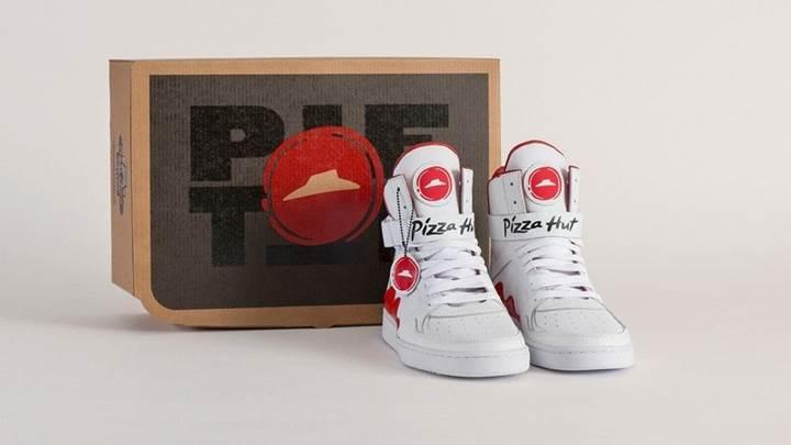 Ayakkabınızla pizza siparişi verebilirsiniz