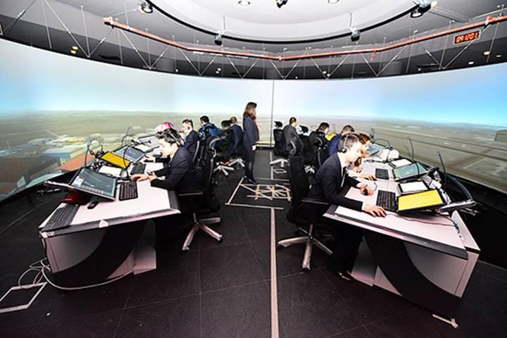 İlk milli hava trafik kontrol simülatörü hayata geçirildi