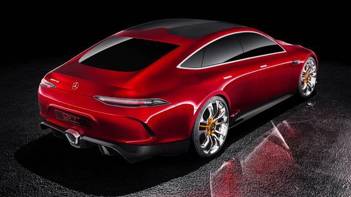 Mercedes-AMG'den 4 kapılı hibrit spor otomobili: AMG GT Concept