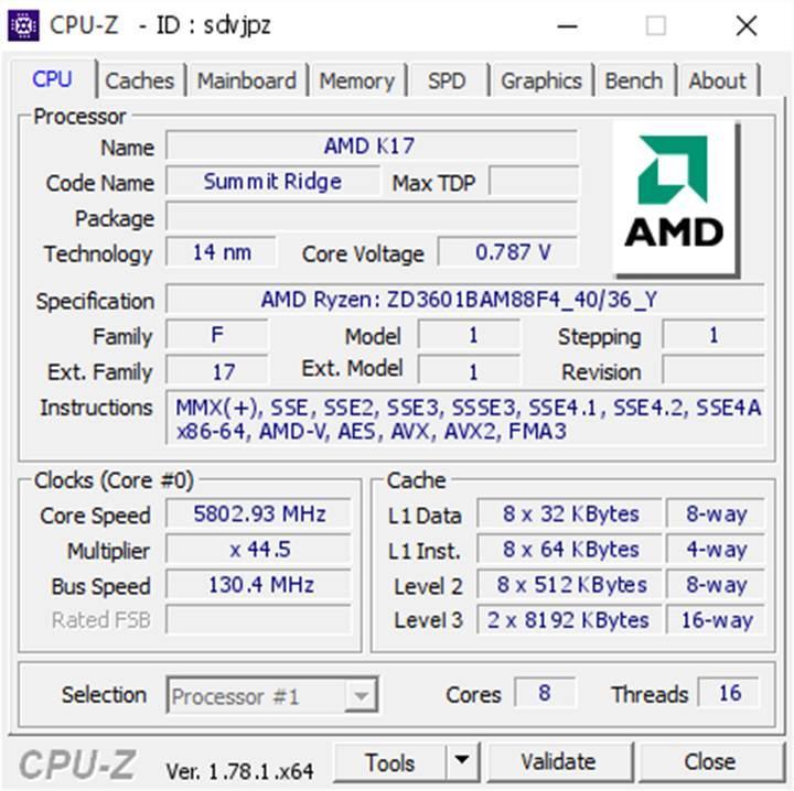 AMD Ryzen 7-1800X hız aşırtma benchmark rekorunu kırdı