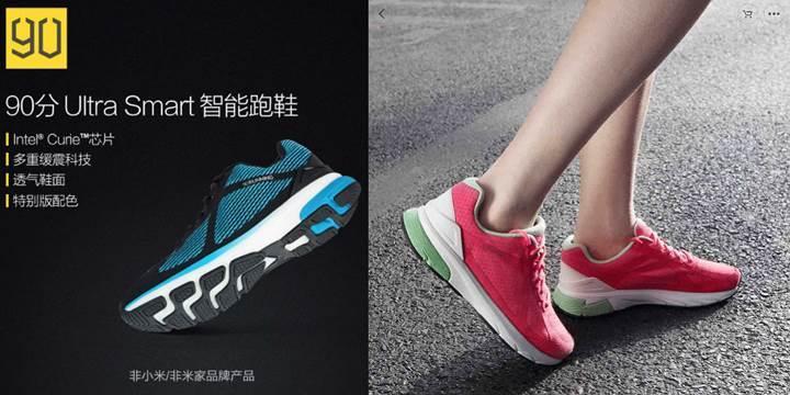 Xiaomi ve Intel'den akıllı ayakkabı