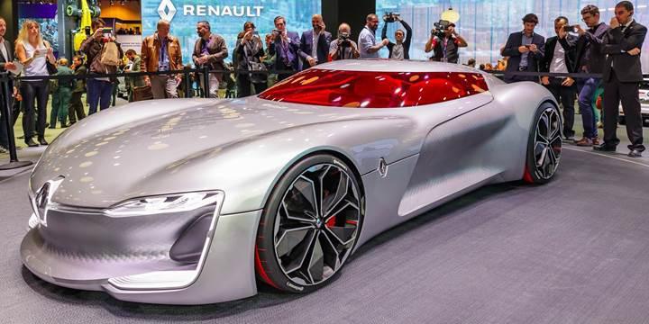 Yılın konsept otomobili Renault Trezor oldu
