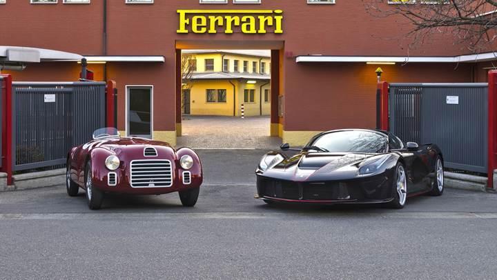 Ferrari, ilk otomobil üretişinin 70. yılını kutluyor