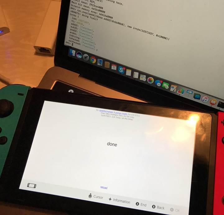 Nintendo Switch çıkar çıkmaz kırıldı