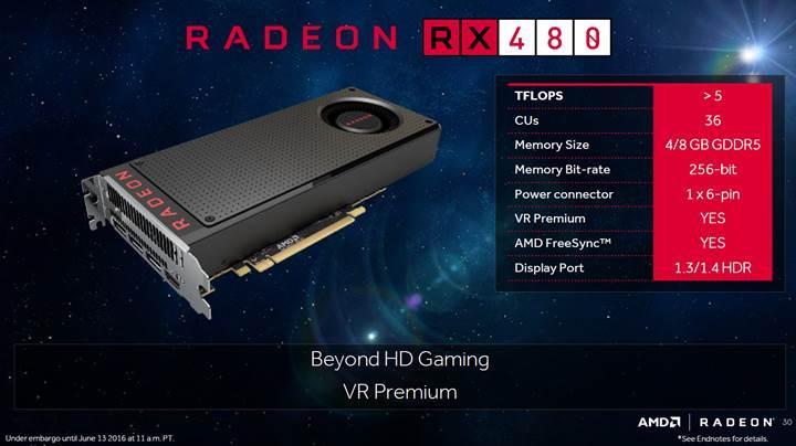 AMD Radeon RX 500 serisi detaylanıyor