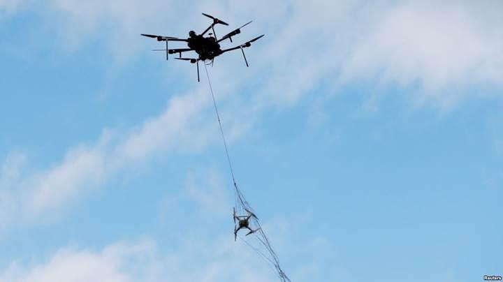 Airspace'den drone avcısı yeni nesil drone